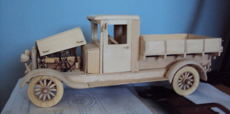 Vintage 1927 chevy 1 ton truck 1/16 scale 12